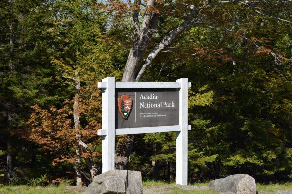 Acadia Entrance